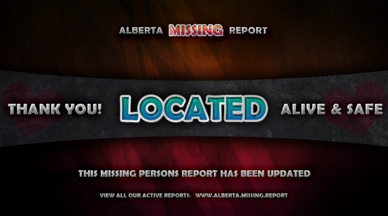 MISSING PERSON, UPDATED • Ryley Golden • Grande Prairie, Alberta • 20 Years Old